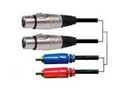 RCA / XLR-Kabel